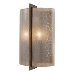 Minka-Lavery Patina Iron 2 Light Ada Wall Sconce From The Clarte Collection