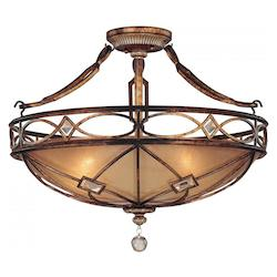 Minka-Lavery 3 Light Aston Court Semi Flush