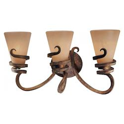 Minka-Lavery Tofino Bronze 3 Light Bathroom Vanity Light From The Tofino Collection
