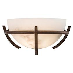 Minka-Lavery 1 Light Nutmeg Wall Sconce