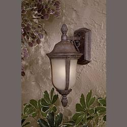 Minka-Lavery Open Box 1 Light Wall Mount In Rust Finish