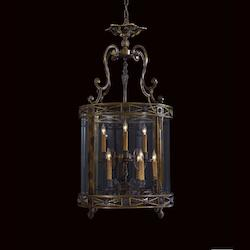 Minka Metropolitan Minka 9 Light Foyer Pendant In The Neoclassic Style In Oxide Brass Finish