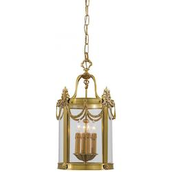 Minka Metropolitan Dore Gold 4 Light 22In. Height Lantern Pendant From The Metropolitan Collection