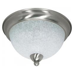 Nuvo South Beach - 3 Light - 15In. - Flush Mount - W/ Water Spot Glass