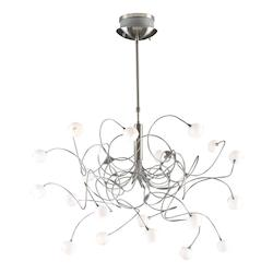 PLC Lighting 20 Light Chandelier Fusion Collection