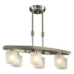 PLC Lighting 6 Light Pendant Wyndham Collection