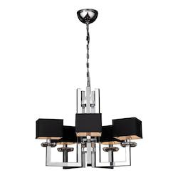 PLC Lighting 5 Light Chandelier Icon Collection