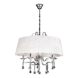 PLC Lighting 5 Light Chandelier Lily Collection