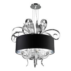 PLC Lighting 6 Light Chandelier Valeriano Collection