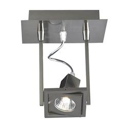 PLC Lighting 1 Light Wall Light Square Collection