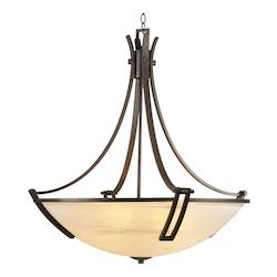 PLC Lighting 6 Light Chandelier Highland Collection