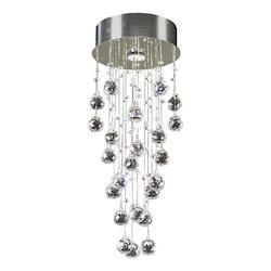 PLC Lighting 1 Light Ceiling Light Beverly Collection