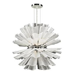 PLC Lighting 12 Light Chandelier Enigma Collection