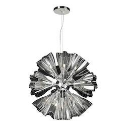 PLC Lighting 19 Light Chandelier Orbitier Collection