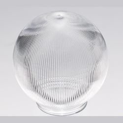 Satco Products Inc. Clear Prismatic Ball 6In. X 3¼In.F