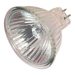 Satco Products Inc. 50 Watt Halogen; Mr16; 4000 Average Rated Hours; Miniature 2 Pin Round