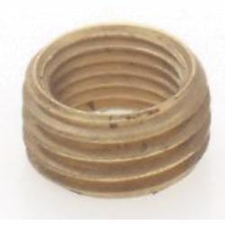 Satco Products Inc. M X 1/8F Brass Headless Reducing Bushing