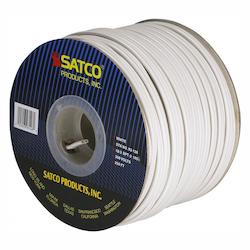 Satco Products Inc. Spool Wire 18/2 Spt2 105° White 250In.
