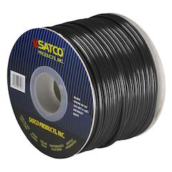 Satco Products Inc. Spool Wire 18/2 Spt2 105° Black 250In.