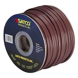 Satco Products Inc. Spool Wire 18/2 Spt2 105° Brown 250In.