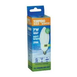 Satco Products Inc. 7W/2700 Cfl Torpedo