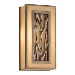 Troy One Light Bronze Wall Light