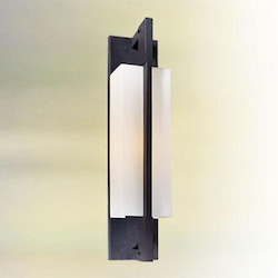 Troy One Light Forged Iron Outdoor Wall Light