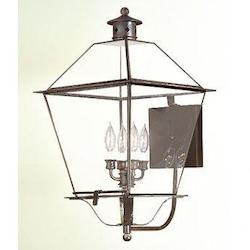 Troy Four Light Natural Rust Wall Lantern