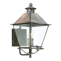 Troy One Light Natural Rust Wall Lantern