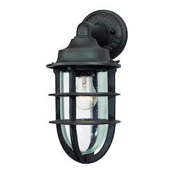 Troy One Light Nautical Rust Marine Light