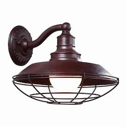 Troy One Light Old Rust Outdoor Wall Light