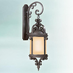 Troy One Light Old Bronze Wall Lantern