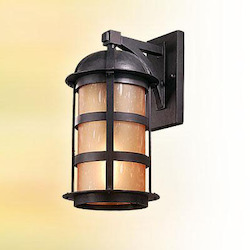 Troy One Light Natural Bronze Wall Lantern