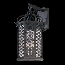 Troy Three Light Old Iron Wall Lantern