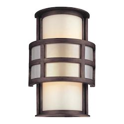 Troy One Light Graphite Outdoor Wall Light