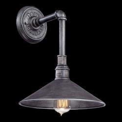 Troy One Light Old Silver Outdoor Wall Light