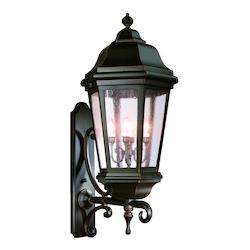 Troy Four Light Antique Bronze Wall Lantern