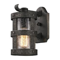 Troy One Light Barbosa Bronze Wall Lantern