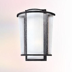 Troy One Light Forged Bronze Outdoor Wall Light
