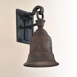 Troy One Light Cenntinial Rust Outdoor Wall Light