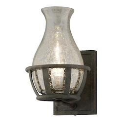 Troy One Light Chianti Bronze Wall Light