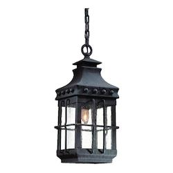 Troy One Light Natural Bronze Hanging Lantern