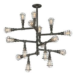 Troy 16Lt Chandelier