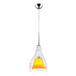 Bromi Nixon Yellow Glass Lighting Pendant