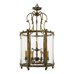 Minka Metropolitan Antique Bronze Patina 8 Light Lantern Pendant From The Foyer Collection