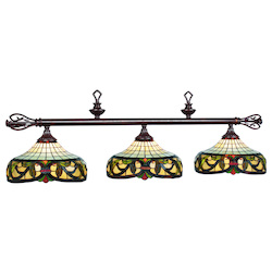 RAM Gameroom Harmony-60In. 3 Lt Billiard Light