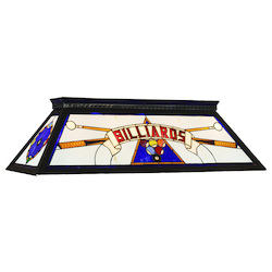 RAM Gameroom Billards Kd Blue Billiard  Table Light