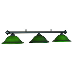 RAM Gameroom 60In. Marseilles Lamp Green