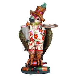 RAM Gameroom ODR952 Parrot Waiter-40In.H