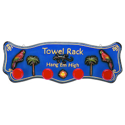 35In. H W 12In. Towel Rack